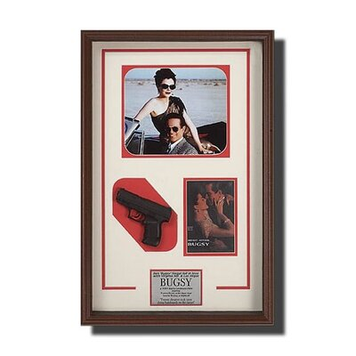 Legendary Art Rectangular Framed 'Bugsy' Memorabilia