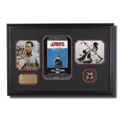 Legendary Art Large Framed 'Jaws' Memorabilia