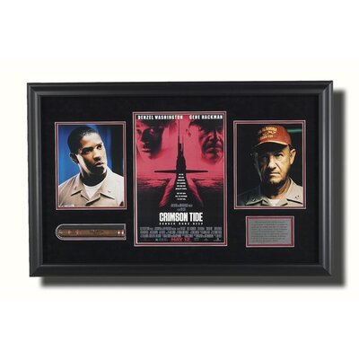 Legendary Art Framed 'Crimson Tide' Memorabilia