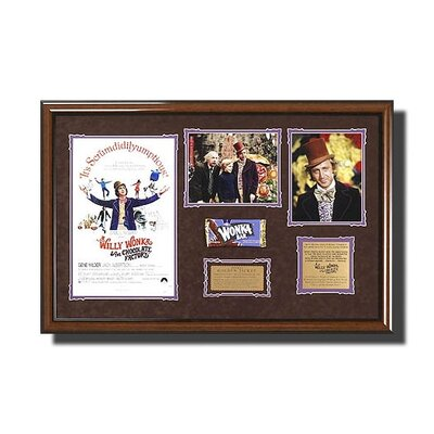Legendary Art Framed 'Willy Wonka & The Chocolate Factory' Memorabilia