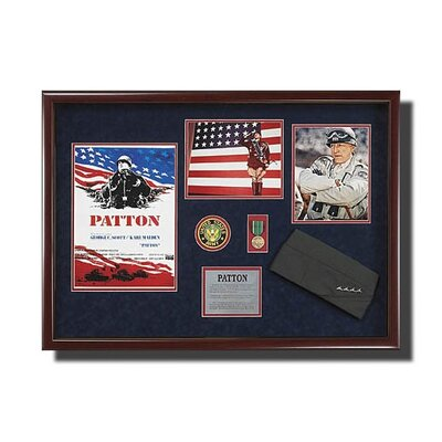 Legendary Art Framed 'Patton' Memorabilia