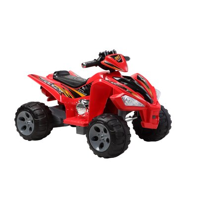 Happy Rider 12 Volt Battery Quad Ride-on Motorcycle