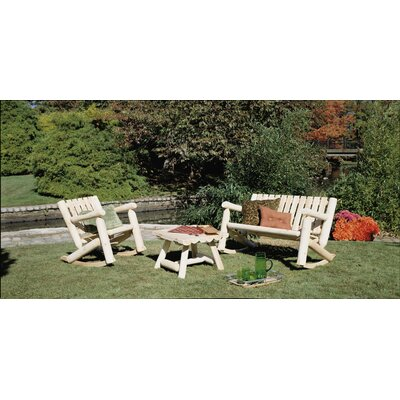 Rustic Natural Cedar Furniture Outdoor / Indoor Rocking Chair