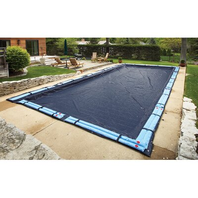 Dirt Defender Dirt Defender 8-Year Rectangular In Ground Pool Winter Cover
