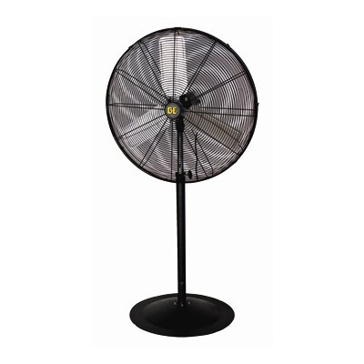 "BE Pressure 30"" Direct Drive 3 Speed Oscillating Pedestal Fan"