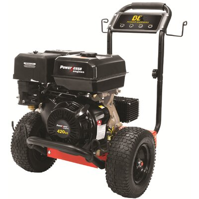 BE Pressure 4000 PSI 4 GPM Cold Water Pressure Washer