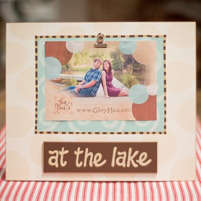 At The Lake Clip Picture Frame