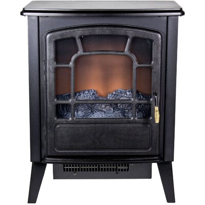 Frigidaire Bern Retro Style Floor Standing Electric Fireplace