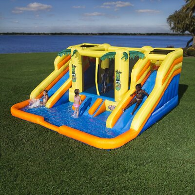 Blast Zone Rainforest Rapids Water Bounce House