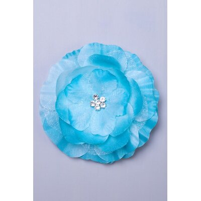 Heart to Heart Rosette Hair Clip