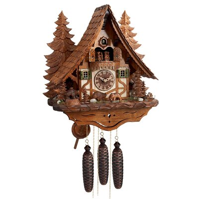 Eight Day Musical Chalet Cuckoo Clock