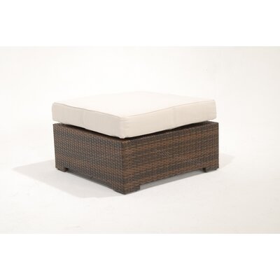 BOGA Furniture Menorca Ottoman with Cushion