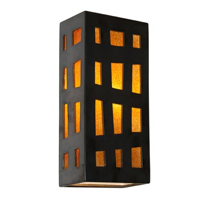 A19 ReFusion Grid Wall 1 Light Sconce