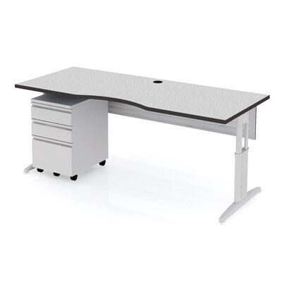 Markant USA, Inc. MyOffice Curve Teacher Station