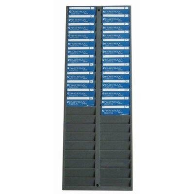 Pyramid 40 Capacity ID Badge Rack