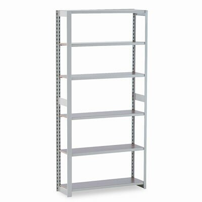 "Tennsco Corp. Regal Shelving Add-On Unit, 6 Shelves, 12"" Length"