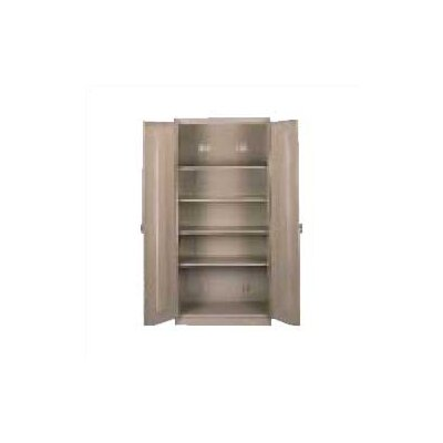 "Tennsco Corp. Assembled Deluxe 18"" Deep Storage Cabinet"