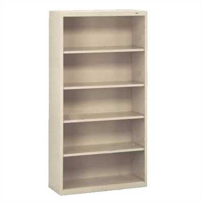 "Tennsco Corp. Welded 66"" H Five Shelf Bookshelf"