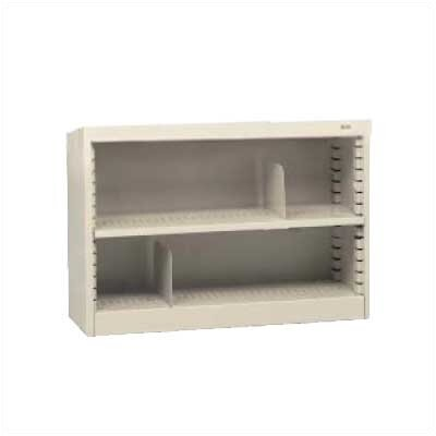"Tennsco Corp. KD 30"" H Two Deep Shelf Bookcase"