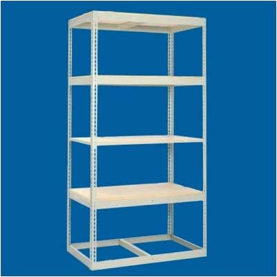 Tennsco Corp. Z Line Low Profile Shelf Levels With Decking