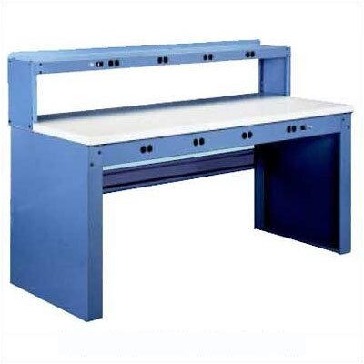 Tennsco Corp. Electronic Workbench, Steel Top