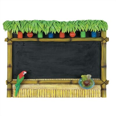 RAM Gameroom Products Chalkboard Tiki Bar Sign