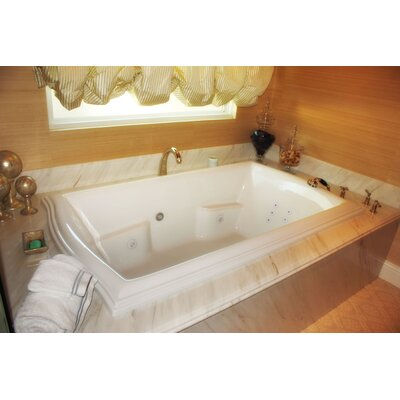 "Hydro Systems Designer Debra 72"" W X 42"" D Air Bath Tub with Thermal System"