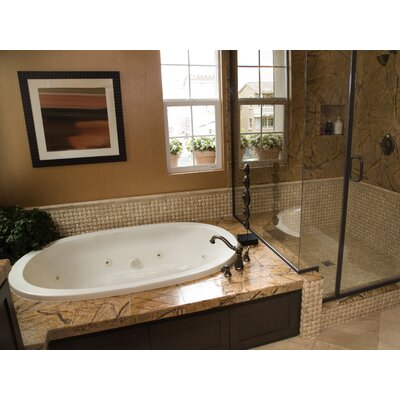 "Hydro Systems Designer Galaxie 74"" x 44"" Bathtub"