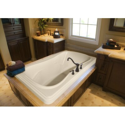 "Hydro Systems Designer Jennifer 72"" W X 48"" D Bath Tub with Whirlpool System"