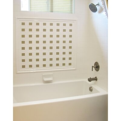 "Hydro Systems Designer Sydney 72"" W X 40"" D Bath Tub with Whirlpool System"