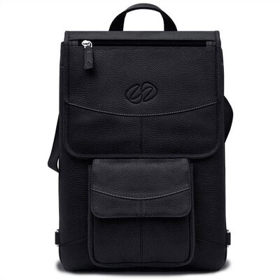 MacCase Premium Leather MacBook/Air Flight Jacket in Black