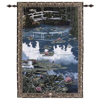 Manual Woodworkers & Weavers Water Lilies Tapestry