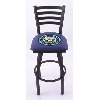Holland Bar Stool US Military Ladder-Back Barstool