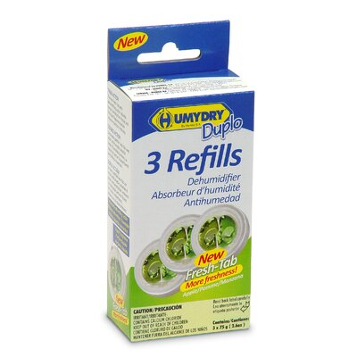 Humydry Refill Tab 2.6 oz. Moisture Absorber (Pack of 3)