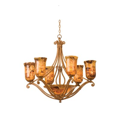Kalco Somerset 8 Light Chandelier
