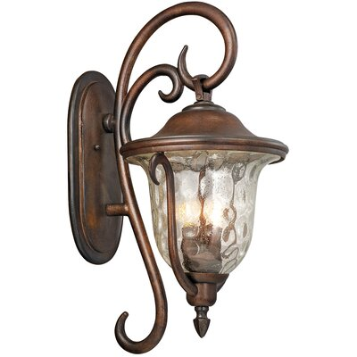 Kalco Santa Barbara 3 Light Outdoor Wall Lantern