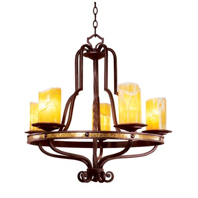 Kalco Durango 5 Light Chandelier