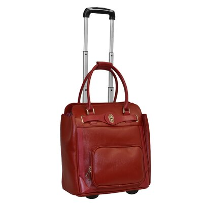 Saffiano 16'' Rolling Laptop Case