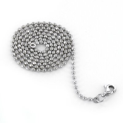 Lobster Clasp Ball Chain