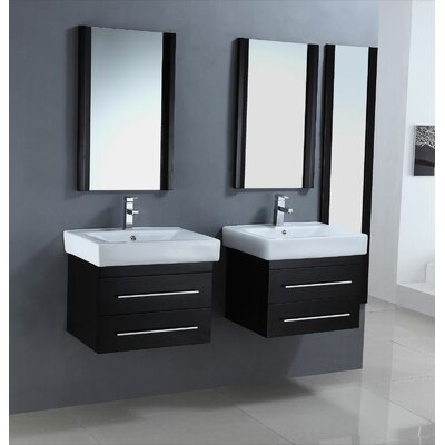 "Legion Furniture 24"" Single Bathroom Vanity Set (Set of 2)"
