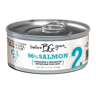Merrick Pet Care Before Grain Salmon Canned Cat Food