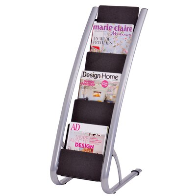 Alba 6 Level Floor Literature Display Rack
