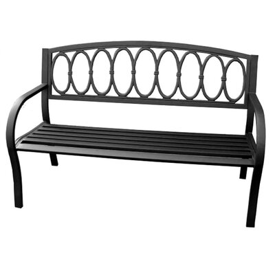 Jordan Manufacturing Paris Metal Garden Bench