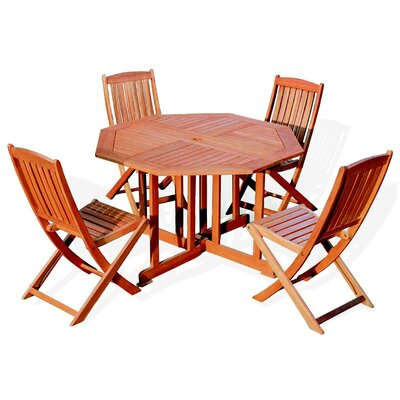 Jordan Manufacturing Folding Dining Table Set