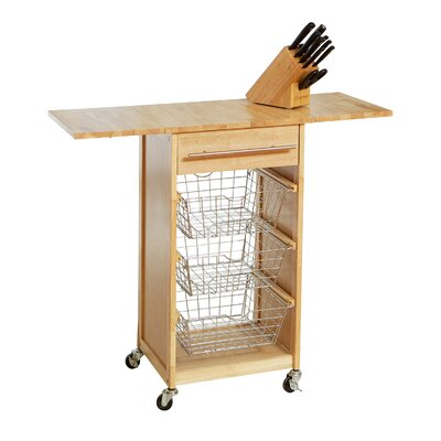 Home Loft Concept Expandable Kitchen Cart