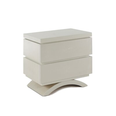 Capretti Milano 2 Drawer Nightstand