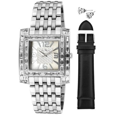 Lucien Piccard Women's Gemma Rectangle Watch