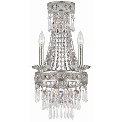 Crystorama Mercer 4 Light Wall Sconce