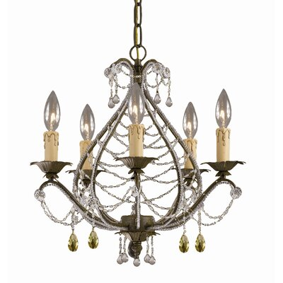 Abigail 5 Light Mini Chandelier