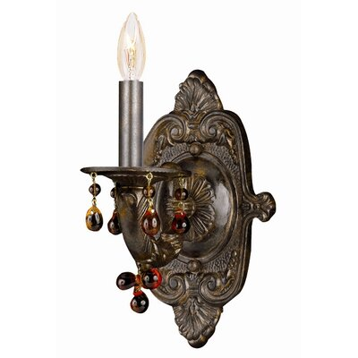 Crystorama Sutton  Wall Sconce in Venetian Bronze